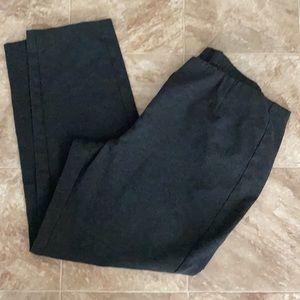 J Jill Ponte Slim Leg Crop Pants Size XL